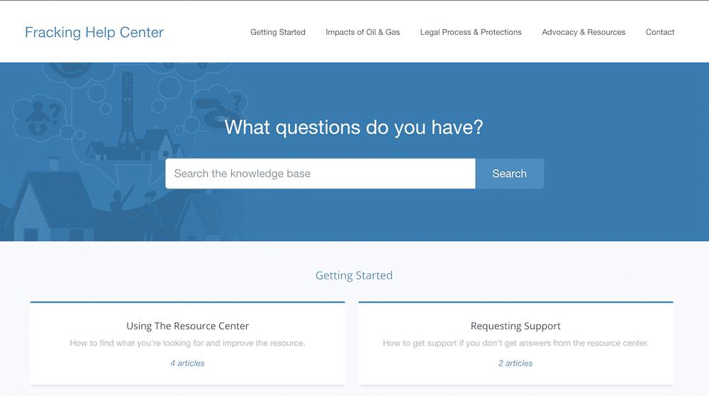 helpdesk screenshot
